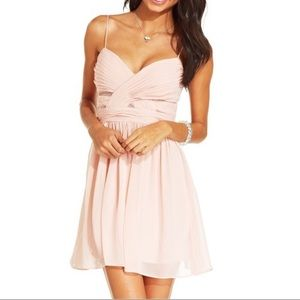 NWT {Hailey Logan By Adrianna Papell} Pink Dress